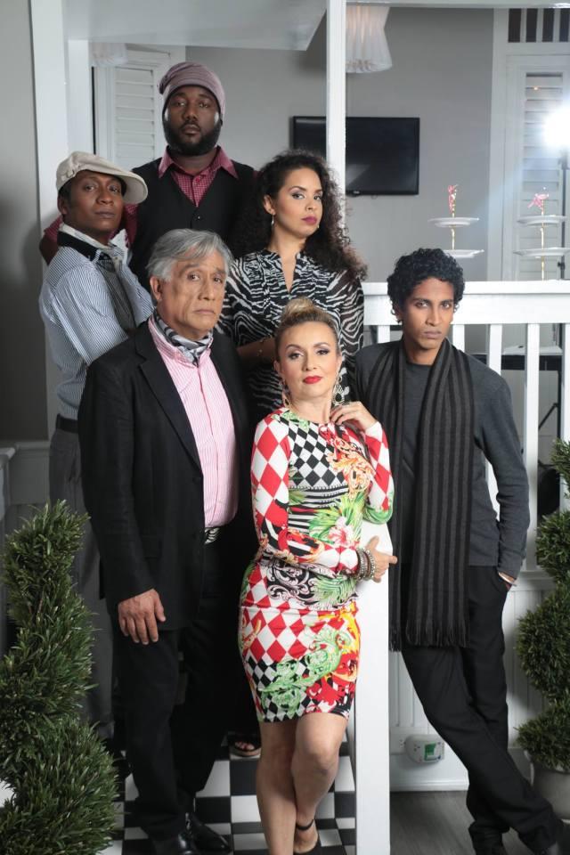 "Cast of ""Party Done..."" (2015, Trinidad): Cecilia Salazar, Arnold Goindhan, Kevon Brooks, Trevon Jugmohan, Raymond Choo Kong and Caroline Taylor"