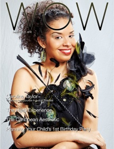 Caroline Taylor: Charting her own course in local theatre - Trinidad and Tobago Guardian WOW Magazine, September 21st 2014