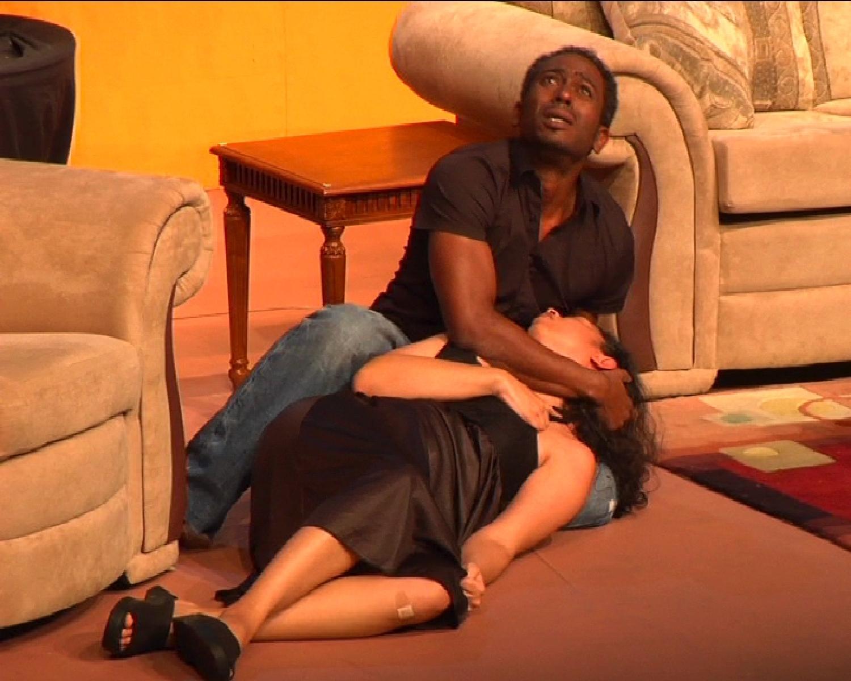 """Nigel Auguste and Caroline Taylor in """"Sex, Lies & Money"""" (Trinidad & Tobago, 2009)"""