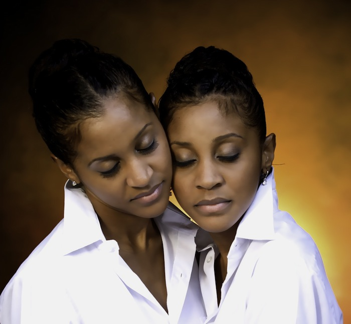 Kathy and Karen Norman, the twin designers behind K2K Alliance and Partners. Courtesy K2K