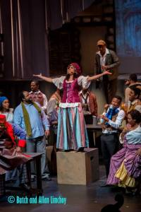 As Madame Thénardier (Les Misérables, 2014)