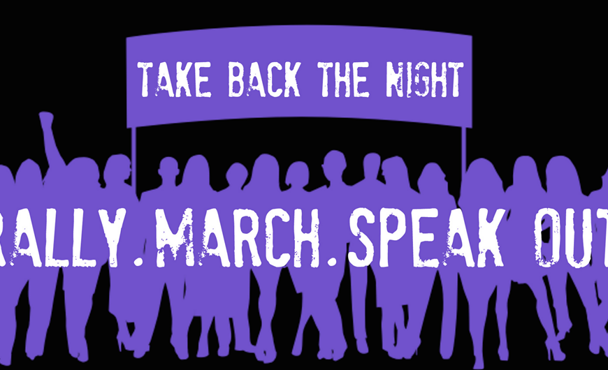 Take Back the Night. Image via Kent State University