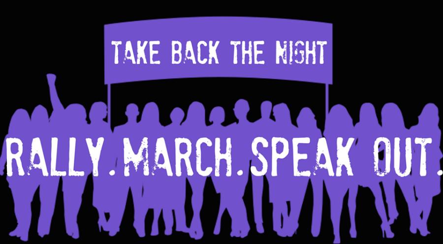 Take Back the Night. Image via Kent State University